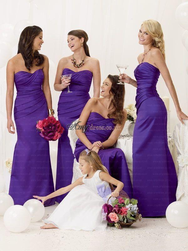 Mejores 16 imágenes de Blue Bridesmaid Dresses UK en Pinterest ...