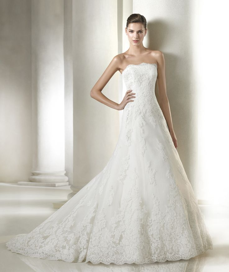 Stunning America wedding dress from the Costura St Patrick collection St Patrick