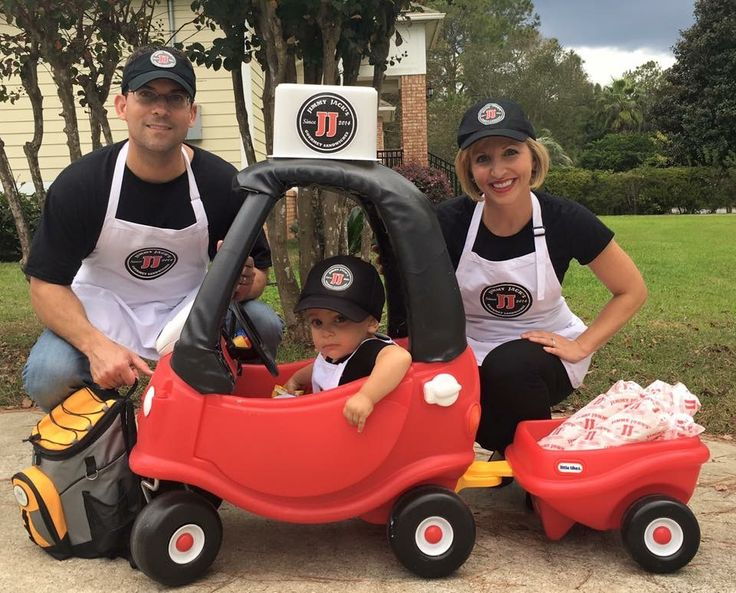 Jimmy Johns delivery costume. Our kid's name is Jack, so we changed it to Jimmy Jacks😉