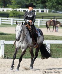 Western Training Tip: Trouble slowing your horse at the lope? Try this conditioning program.