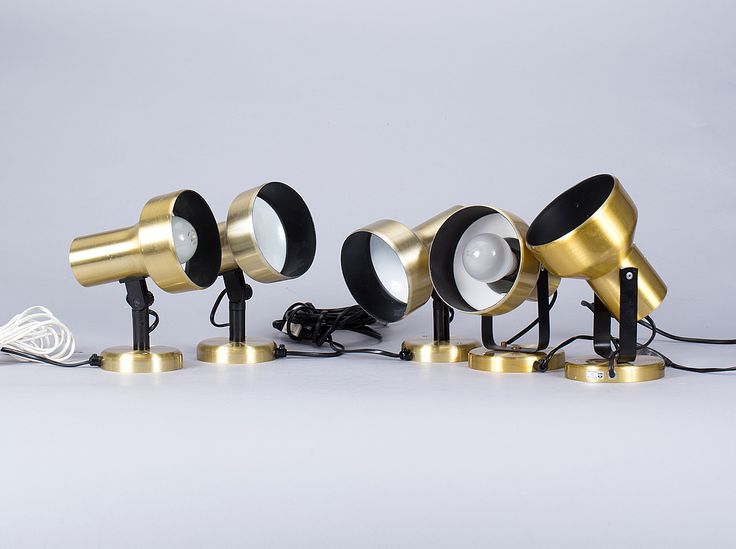 Vintage Belid wall lamps. Made in Sweden by Belid, years ago.