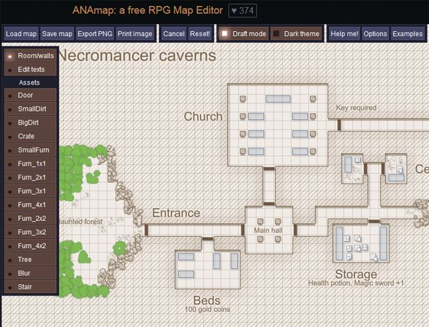 ANAmap: a free RPG Map Editor  http://deepnight.net/tools/tabletop-rpg-map-editor/