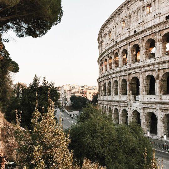 Colosseum in Rome, Italy. #landmark #royalcaribbean