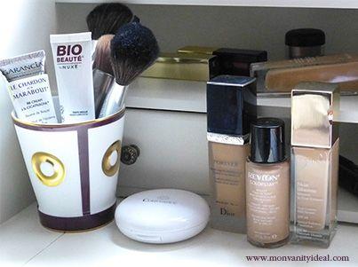 #maquillage #makeup #fondeteint #foundation #Dior #Clarins #Avene #Revlon #Skinillusion #pinceau #Bernardaud #Biobynuxe #BBcream #BBcreme #beauté #beauty #cosmetics #beautyproducts Comment choisir un fond de teint de la bonne couleur ? la réponse ici http://www.monvanityideal.com/conseils/maquillage/le-teint/le-graal-:-un-fond-de-teint-de-la-bonne-couleur-en-6-points.html