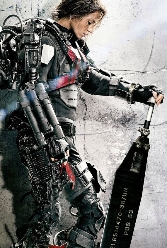 Emily Blunt  Edge of Tomorrow Poster V014  by YusufsCanvasPrints, $19.99