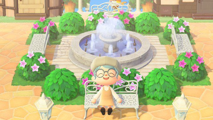 あつ森 噴水広場 作り方 【あつ森】噴水広場の作り方【あつまれどうぶつの森】