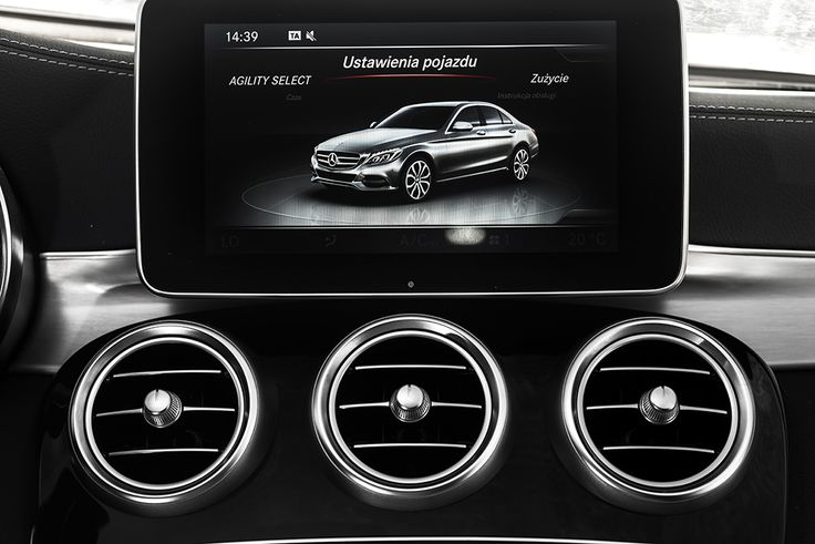 New Mercedes C class infotainment and air vents detail  #mercedes #cclass #detail  see more: http://premiummoto.pl/12/11/mercedes-benz-c220-bluetec-galeria