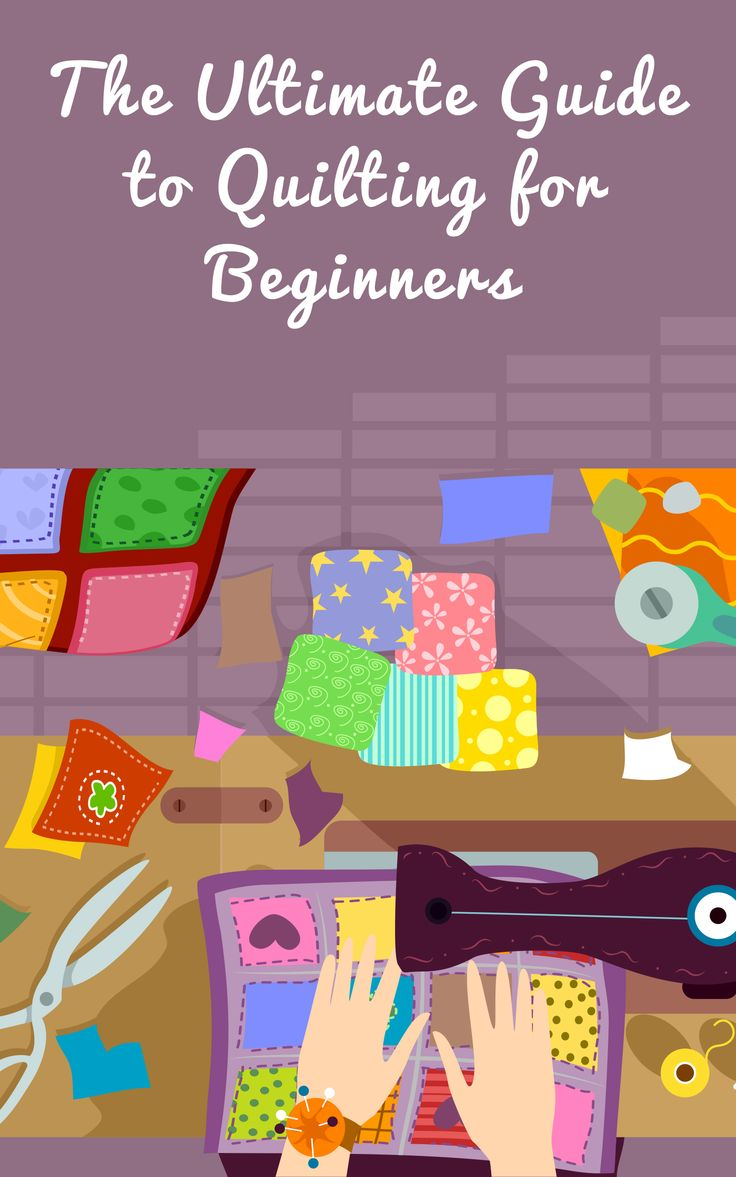 """It's easy to get started as a new quilter!  That's why, at Runaway Quilting, we created """"The Ultimate Guide to Quilting for Beginners."""" If you're just beginning with quilting—or you know someone who is—download this helpful guide for free.  Here's what you'll learn: -Which four things you need to get started -How to size your quilt -What you need to know about quilt batting so your quilt turns out perfectly, and more."""