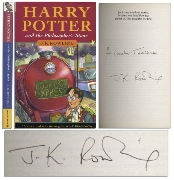 First Edition First Printing Of J K Rowling S Harry Potter Debut