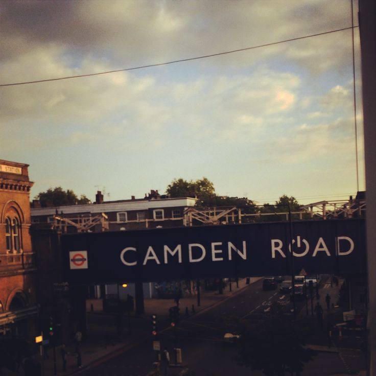 This is my view of Camden in the morning