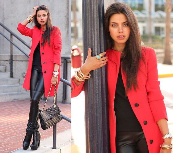 San Diego Diary | Red Day (by Annabelle Fleur) http://lookbook.nu/look/2695437-San-Diego-Diary-Red-Day
