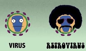 Retrovirus! Biology humor