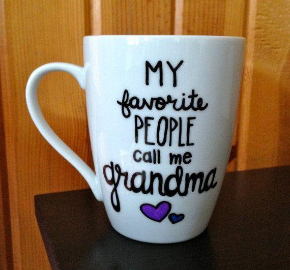 Grandma Coffee Mug  My favorite People Call Me by Hinzpirations