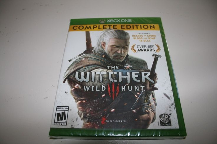 Brand New and Sealed The Witcher III 3 for the Xbox One #xbox #brand #sealed #edition #complete #wild #hunt #witcher