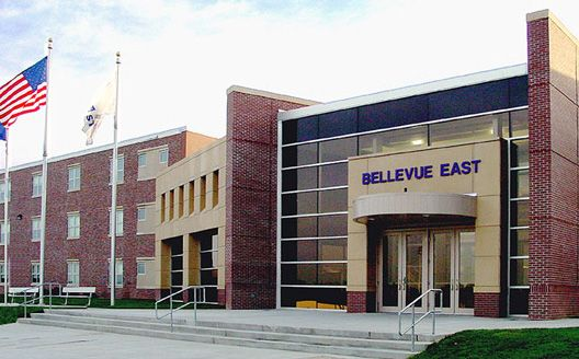 "Bellevue East High School, Bellevue, Nebraska  I went to this school. I have some learning disabilities and quirks but going to college and becoming a marine biologist has been my dream and this school, Bellevue east told me repeatedly that ""kids like me didn't get college educations"" they believe that if school is hard for you then you should give up. I didn't and won't I am a junior in college so they can suck it."