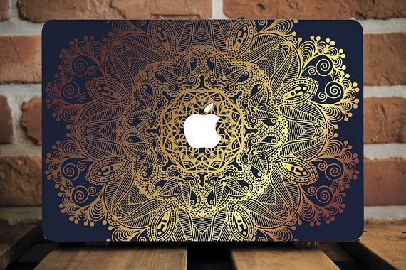 Gold Henna MacBook Pro Hard Case MacBook Air Hard Case MacBook