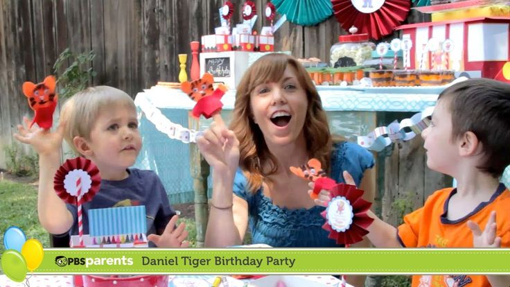 Throw a Daniel Tiger birthday party with these great tips and ideas from @PBS Parents!