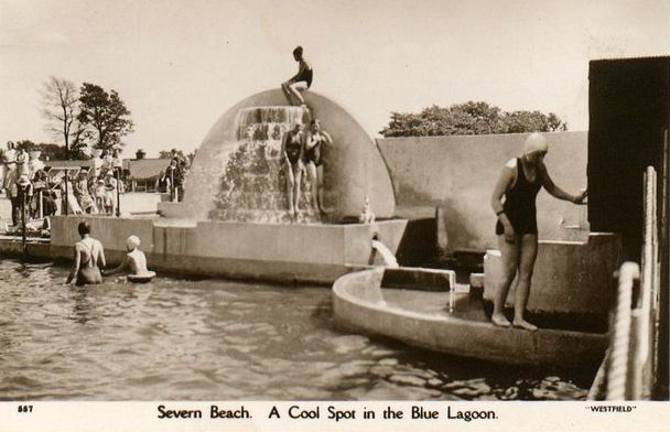 Severn Beach 1950s.