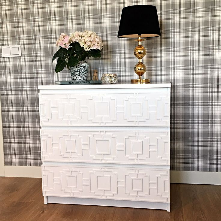 Beautiful ikea hack with furniture decor from Frontcover  #malm#ikea#ikeahack#bedroom#inspiration#sovrum#diy#modern