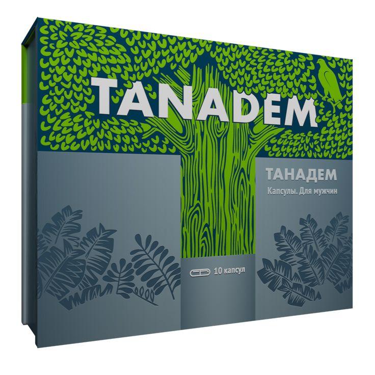Tanadem - капсулы для усиления потенции. Купить в Аптеке