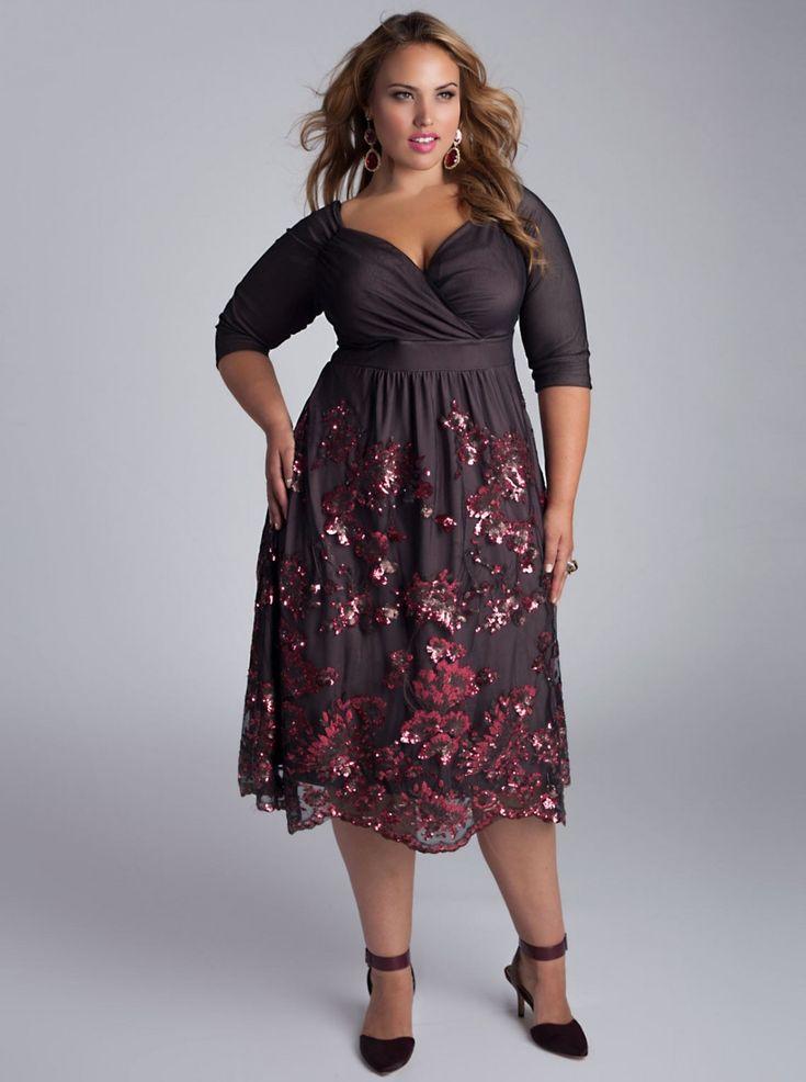 Фото платьев для толстушек — photo 10
