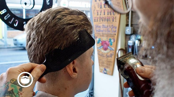 Men's Faded Quiff Haircut from Master Barber | Shop Beardbrand: https://bdbd.us/2mcQY3L Instagram: http://ift.tt/2p10D02 Twitter: https://www.twitter.com/beardbrand  DESCRIPTION Master barber Mahesh Hayward sets up a young man with a proper faded quiff haircut at the barbershop.  RECOMMENDED VIDEOS Modern Quiff With Disconnected Fade (Actual Haircut Footage) https://youtu.be/JVBAfbHtgFk Classic Quiff with a Natural Side Part https://youtu.be/nNFkGzd7yZ8 Bleached Hair with a Modern Quiff at…