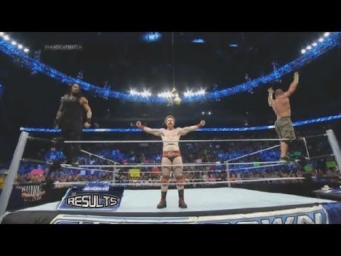 WWE SMACKDOWN June 20 2014 - 4-on-3 Handicap Match & More! - WWE SmackDown 6/20/14 Full Show Results