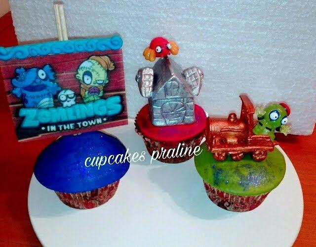 LAS DULCES TARTAS DE GLORIA: ZOMLINGS Cupcakes de praliné de avellanas y chocol...