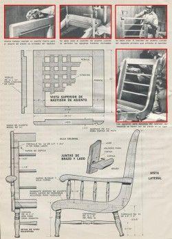 ATRACTIVA SILLA DE ESTILO COLONIAL MARZO 1972 ABRIL 1972 003 copia