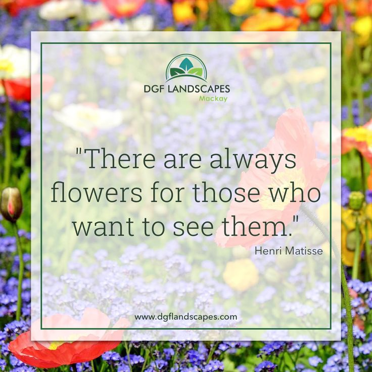 """""""There are always flowers for those who want to see them."""" - Henri Matisse"""