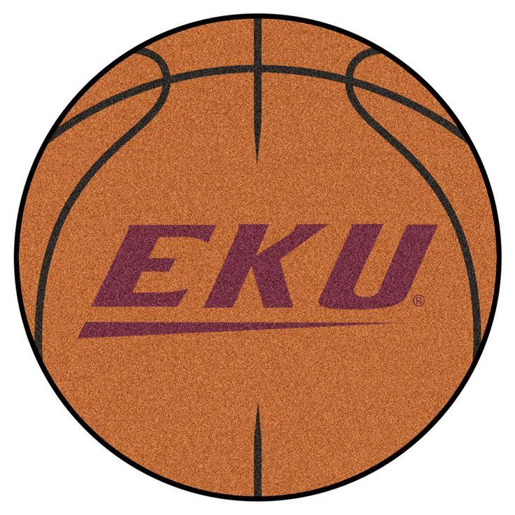 Eastern Kentucky Colonels Basketball Area Rug