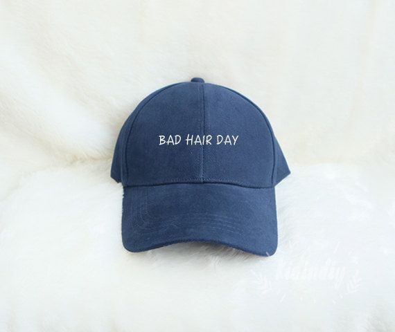 Bad Hair Day Baseball Hat Embroidered Baseball Caps by kidindiy
