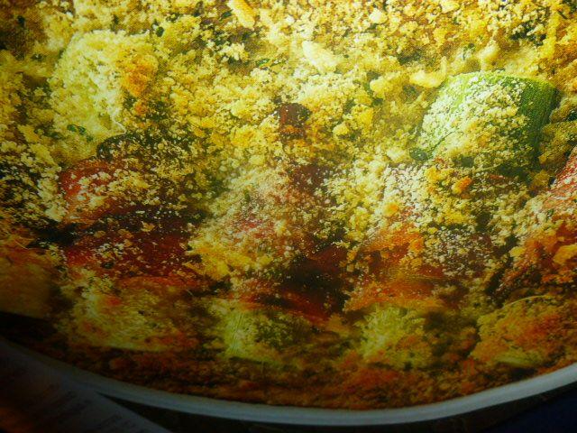 ricette con porri - gratinati con pancetta