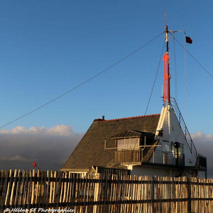 Ria d'Etel: petite randonnée (balade) jusqu'au sémaphore pour voir la barre d'Etel et le cimetière de vieux bateaux