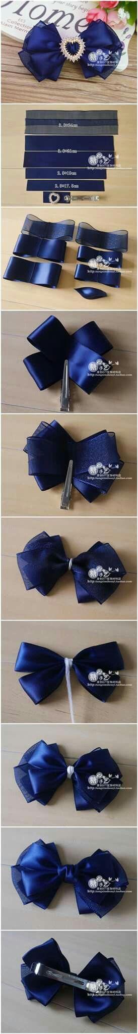 Laços para tiara