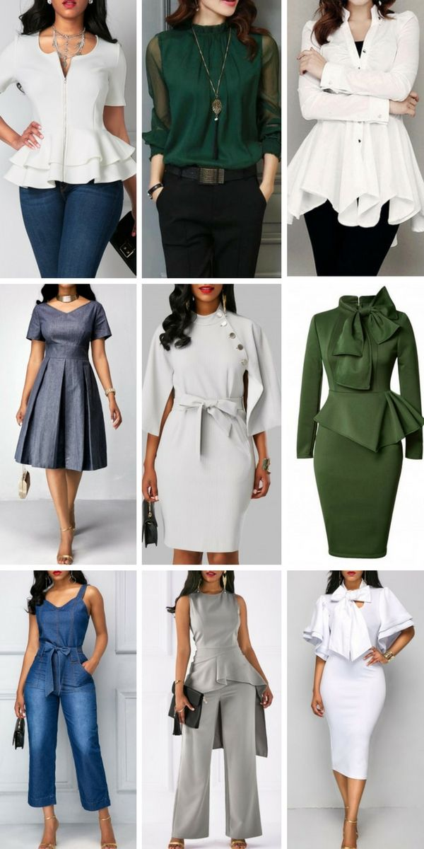 Chic work dresses, work outfits, office attire for women, choose one to update your wardrobe now!
