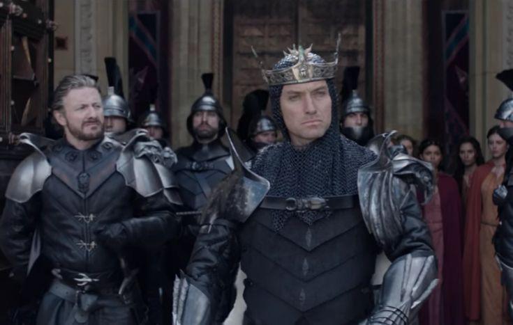 New 'King Arthur: Legend Of The Sword' trailer released