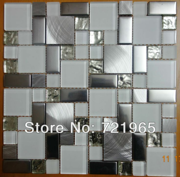 Silver Kitchen Wall Tiles: 17 Best Images About Tile On Pinterest