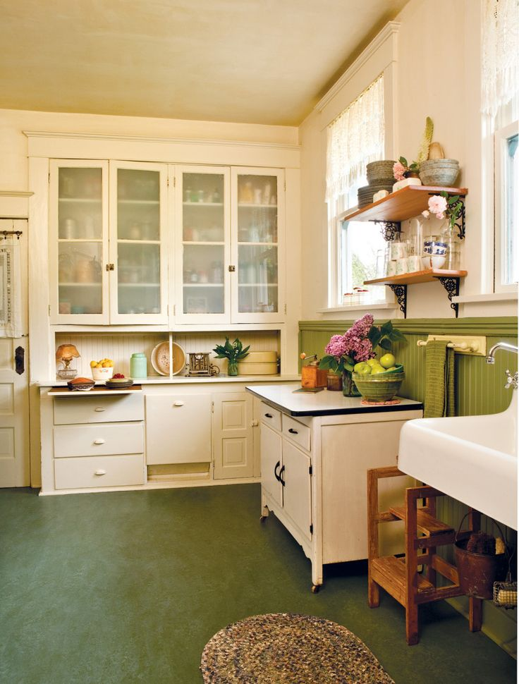 True Vintage Kitchen Old House Kitchen Classics