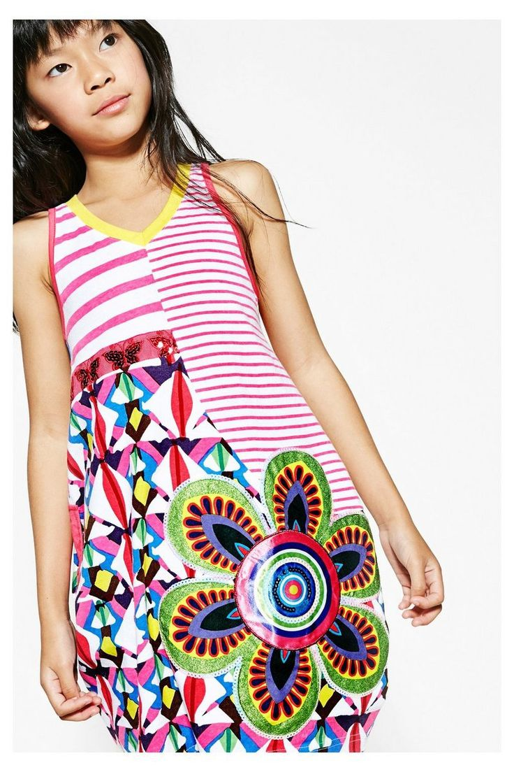 Vestido Desigual con falda globo - Jartum #circulogpr #desigual #fashion #modainfantil
