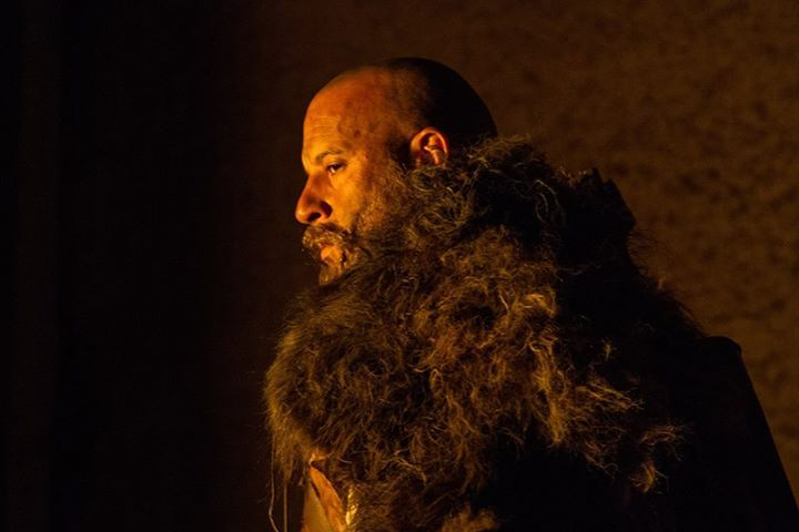 Vin Diesel as Kaulder 'The Last Witch Hunter'
