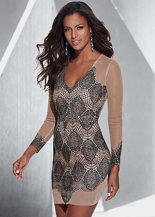 Illusion lace dress in the VENUS Line of Dresses for Women