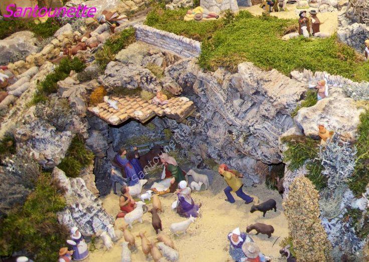 La crèche des Saintes Marie de la Mer (Noël 2016) - Santons et crèches de Provence