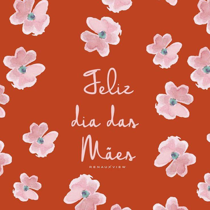 Dia das Mães com estampa fofa RenauxView!