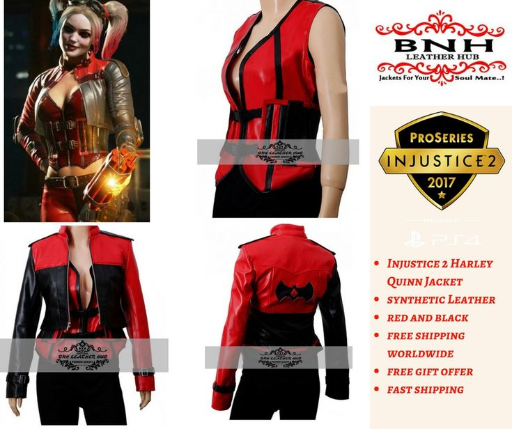 https://www.bnhhub.com/shop/movies/injustice-2-harley-quinn-leather-jacket-and-vest/  Here is the Harley Quinn Injustice 2 Leather Jacket that she wore in the game. Modify the style and become the actual character. View complete detail right here  #usa #australia #canada #uk #france #italy #germany #HarleyQuinnblackjacket #Injustice2Jacket #Injustice2HarleyQuinnJacket #HarleyQuinnVest #Injustice2Vest #WomanInjustice2Jacket #fashion #fashionworld #manfashion #Jacket #menfashion #manstyle…