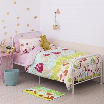 Briscoes - Poppiseed Forest Friends Duvet Cover Set- For the bunk beds