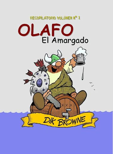 Revistas Mexicanas Comics De Amor | Olafo El Amargado, Recopilatorio no. 1, E.U.A., 1973, Español ...