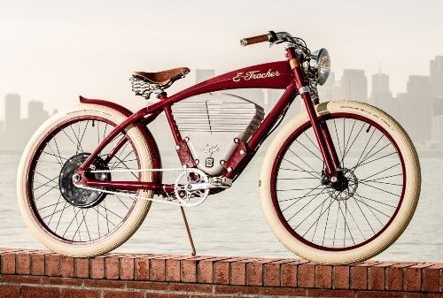 As belas bicicletas elétricas retrô da Vintage Electric - Beto Largman: O Globo