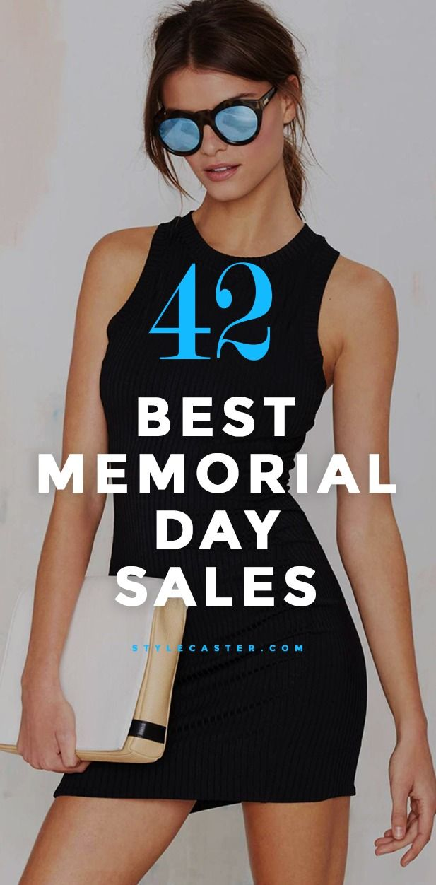 Best 2015 Memorial Day Fashion Sales - 42 online and in-store sales with Spring & Summer items hitting the sales rack at up to 60% off. People, don't miss out on these huge discounts from stores like Nordstrom, Asos, and NastyGal.