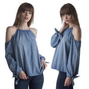 Resultado de imagen para camisas manga larga mujer hombros descubiertos